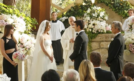 Emily and Daniel At the Altar