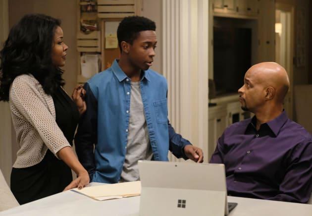 Family Talk - Lethal Weapon Season 1 Episode 13