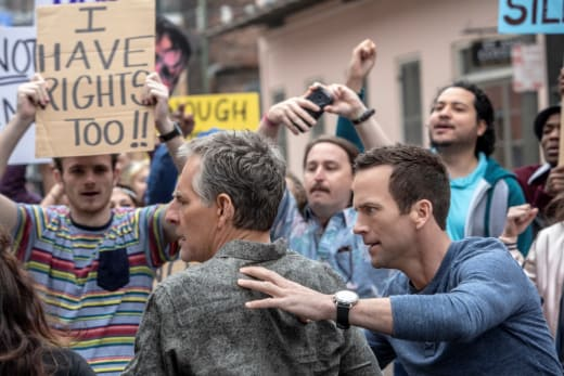 Facing Protesters - NCIS: New Orleans Season 4 Episode 22