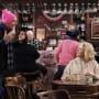 Murphy and Frank Having Coffee - Murphy Brown