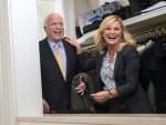 Leslie and Senator McCain