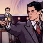 Archer points a gun Season 8 Episode 8