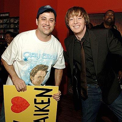 Clay Aiken & Jimmy Kimmel