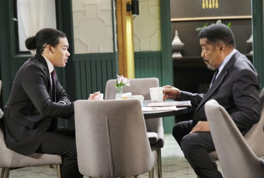 Abe Urges Theo To Postpone - Days of Our Lives