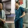 Jordan and Mac - The Night Shift Season 4 Episode 4