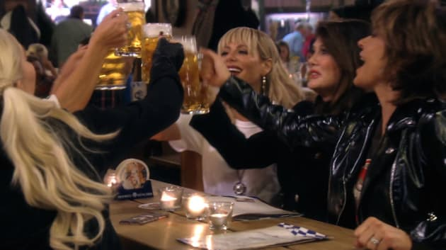 A Berlin Beer Hall - The Real Housewives of Beverly Hills