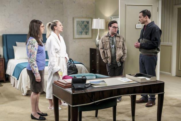 An Interruption - The Big Bang Theory Season 10 Episode 13