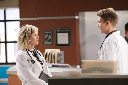 Tripp Tips Off Kayla - Days of Our Lives