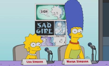 Sad Girl - The Simpsons