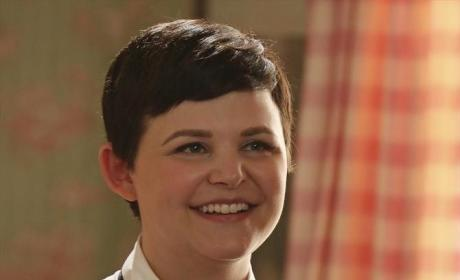 Mary Margaret's Smiling - Once Upon a Time Season 4 Episode 7