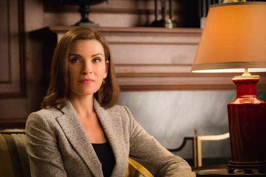 Getting Help - The Good Wife
