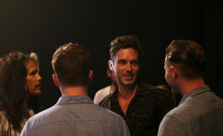 Gunnar Back Stage - Nashville Season 4 Episode 1