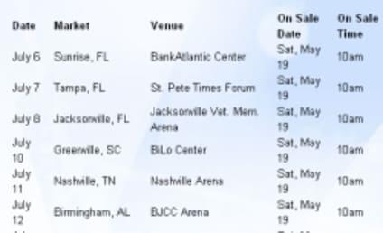 American Idol Tour Dates Announced