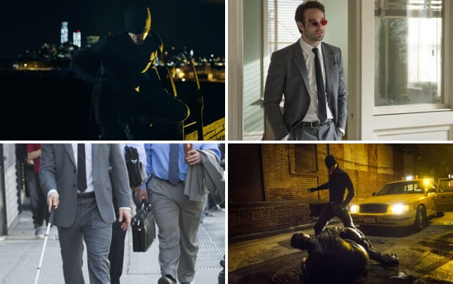 Charlie cox as matt murdock slash daredevil