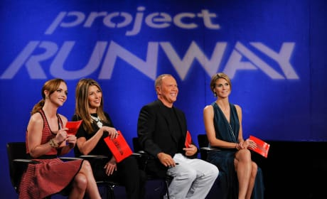 Christina Ricci on Project Runway