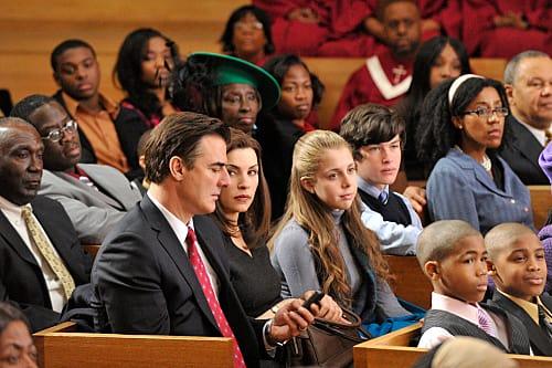 Peter In Church