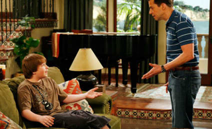 "Two and a Half Men Review: ""Fat Jokes, Pie, & Celeste"""
