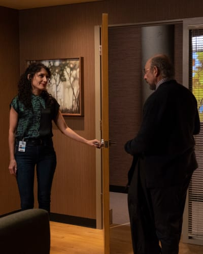 Glassman Meets Blaise - The Good Doctor Season 2 Episode 8