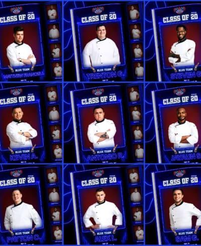 Blue Team  - Hell's Kitchen Season 20 Episode 1