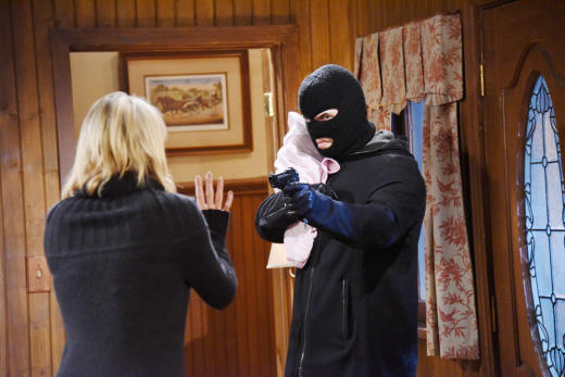 Someone Grabs Holly - Days of Our Lives