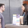 Lani Bumps Into JJ - Days of Our Lives