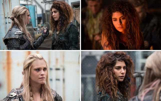 Convincing luna the 100 season 3 episode 14