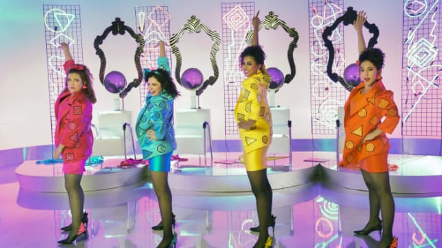 Rebecca, Heather, Paula, and Valencia - Crazy Ex-Girlfriend