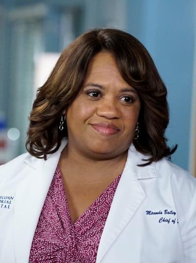 Bailey  Mourns - tall  - Grey's Anatomy Season 16 Episode 11