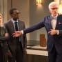 Eleanor, Chidi, and Michael - The Good Place Season 2 Episode 1