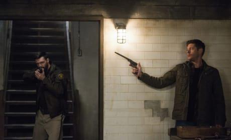 Dean's got the Colt ready - Supernatural Season 12 Episode 18