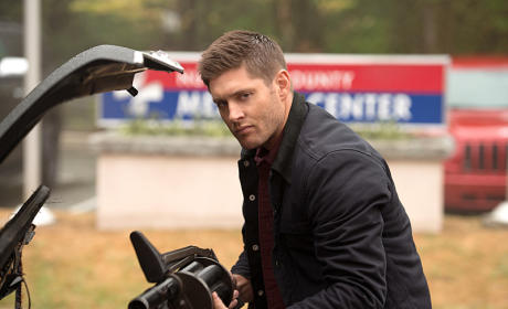 Sexy Sneer - Supernatural Season 11 Episode 1