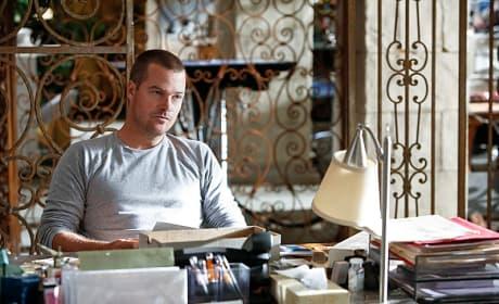 Callen at His Desk