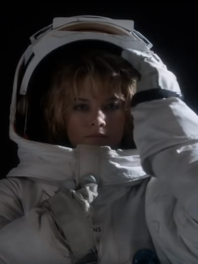 Tracy on Set - For All Mankind