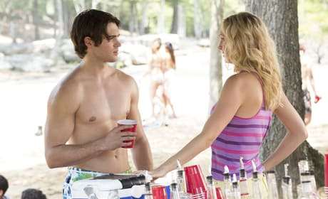 Jeremy and Caroline Chat - The Vampire Diaries Season 6 Episode 3