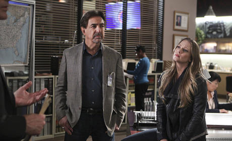 Rossi and JJ - Criminal Minds Season 10 Episode 21