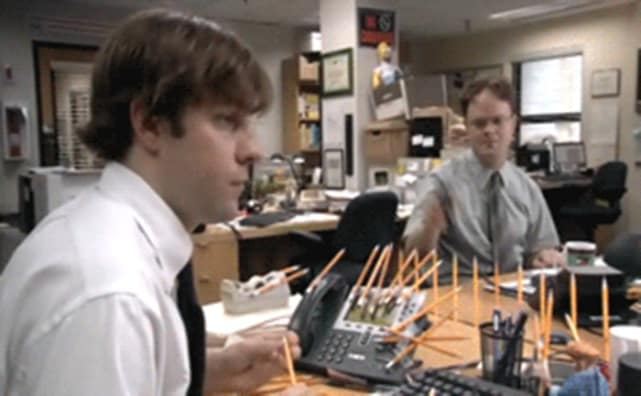 Jim vs. Dwight - The Office