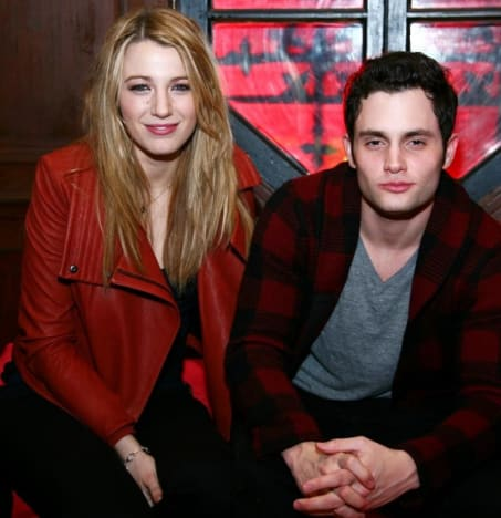 Penn Badgley and Blake Lively Picture