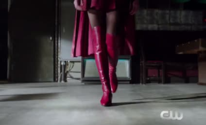 Supergirl Swaps Boots with Wonder Woman - Promo Magic is Made!