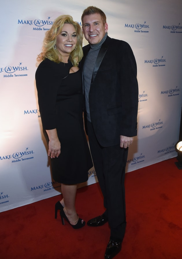 Todd and Julie Chrisley Attend Foundation