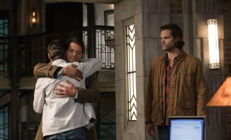 Jack Meets Castiel - Supernatural Season 13 Episode 6