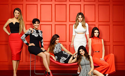 Keeping Up with the Kardashians Poster: It's Ladies Night!