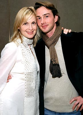 Kelly Rutherford and Daniel Giersch