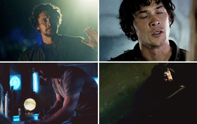 The time bellamy saved clarke and our hearts with only a space m