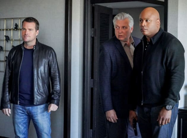 On Stakeout - NCIS: Los Angeles Season 9 Episode 18