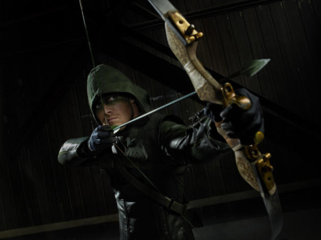 Stephen Amell as Arrow