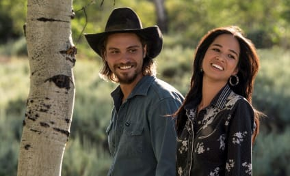 Yellowstone's Luke Grimes and Kelsey Asbille Discuss Kayce and Monica's Relationship, Healing, and Future