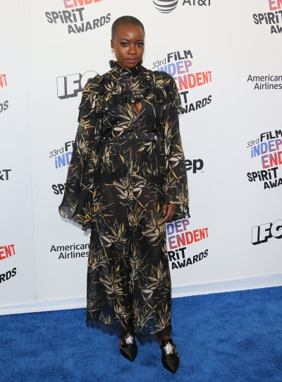 Danai Gurira Attends Spirit Awards