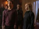 Jordan and Clarke in Sanctum - The 100