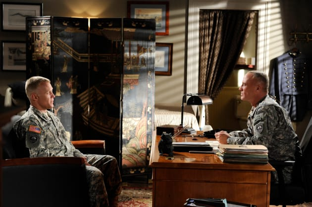 Terry Serpico and Bobby Burke on Army Wives