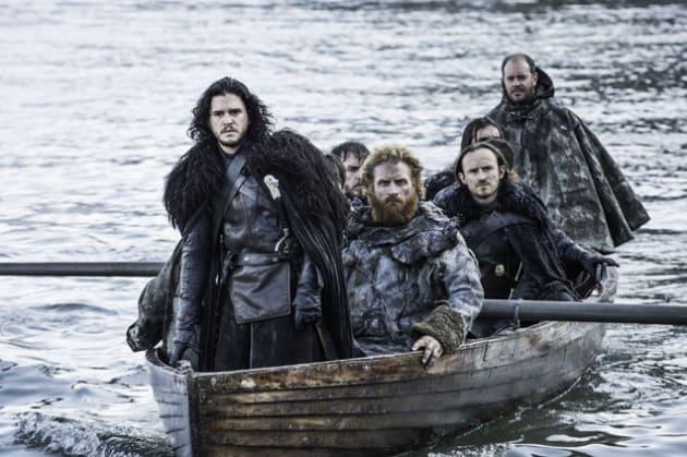 Jon Travels to the Free Folk - Game of Thrones Season 5 Episode 8